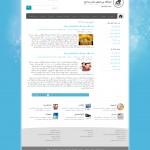 صفحه داخلی قالب html و وردپرس حباب