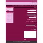 صفحه تماس قالب html و وردپرس نسترن