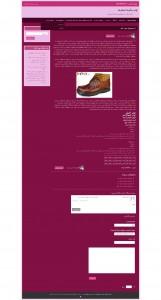 صفحه داخلی قالب html و وردپرس نسترن