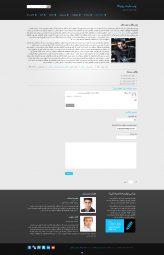 صفحه داخلی قالب html و وردپرس رونیکا