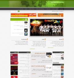 قالب خبری html و وردپرس انعکاس