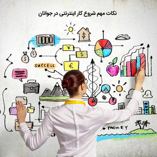 استارت اپ , کسب و کار اینترنتی , نکات طلایی در کسب درامد از اینترنت , کسب درامد از اینترنت برای جوانان