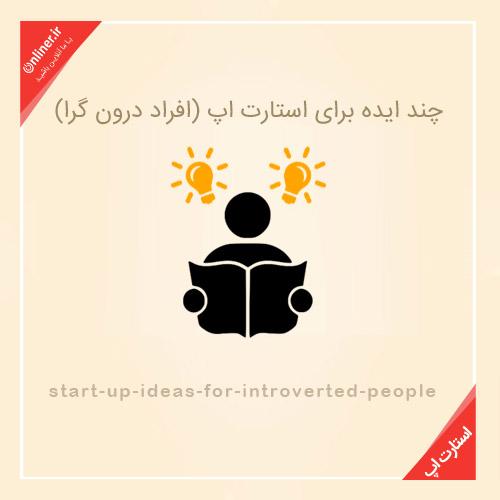 استارت اپ برای افراد درون گرا , استارت اپ ,کسب و کار اینترنتی , خرید و فروش اینترنتی , بازار کار اینترنت