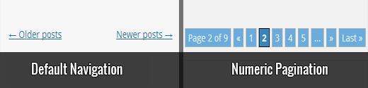 صفحه چینی , اضافه کردن شماره هر صفحه وردپرس بدون پلاگین , صفحه چینی بدون افزونه