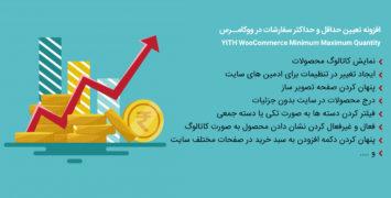 افزونه تعیین حداقل و حداکثر سفارشات در ووکامرس | دمو آنلاین با دانلود مستقیم
