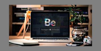 قالب شرکتی Be Service