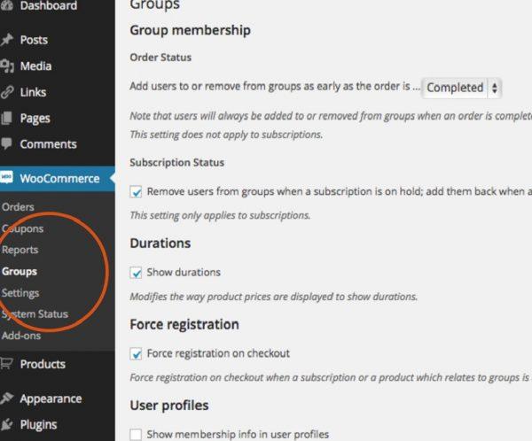 | افزونه گروه بندی یا Groups for WooCommerce | افزونهگروه بندی | Groups for WooCommerce