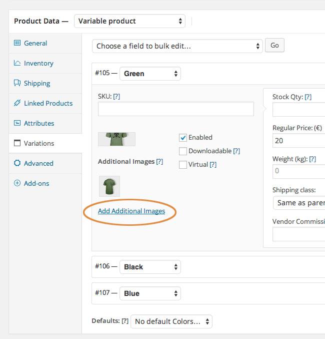 افزونه چندتصویر برای یک محصول یعنی چی؟ |یک محصول و چند تا عکس؟ | WooCommerce Additional Variation Images |