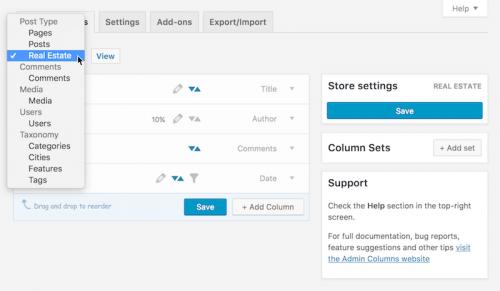 افزونه Admin Columns در وردپرس   سفارشی سازی ستون های مدیریت