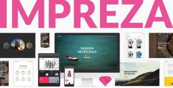 قالب چند منظوره وردپرس ایمپرزا | Impreza – Multi-Purpose WordPress