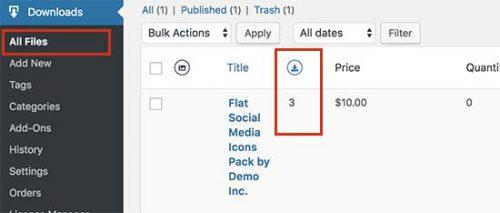 مدیریت فایل ها در وردپرس | مدیر فایل های دانلود شده در wordpress