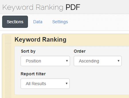 بررسی کلمات کلیدی با ابزار Advanced Web Ranking Cloud